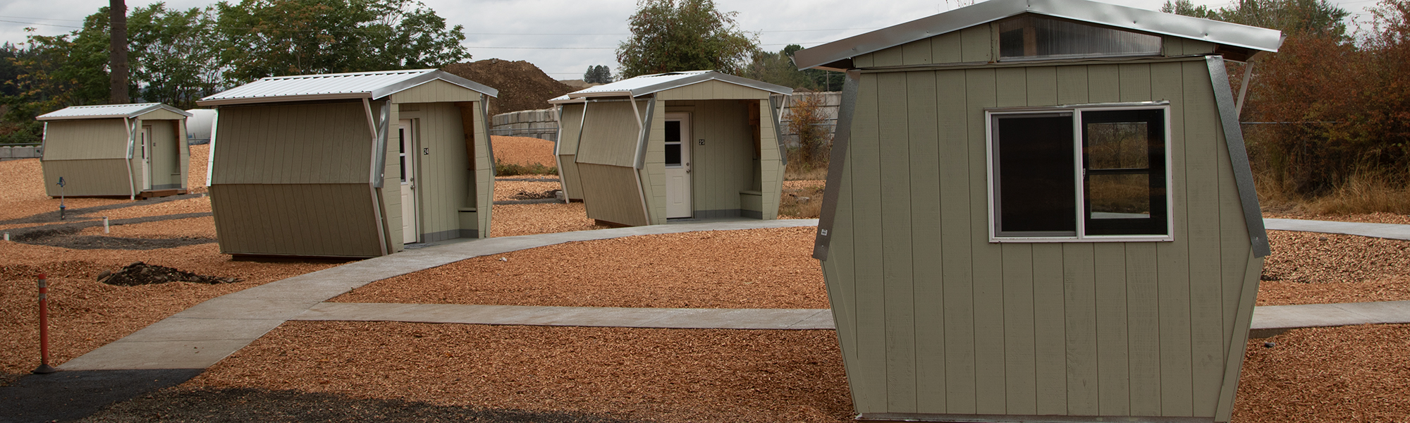 Veteran's Village pods