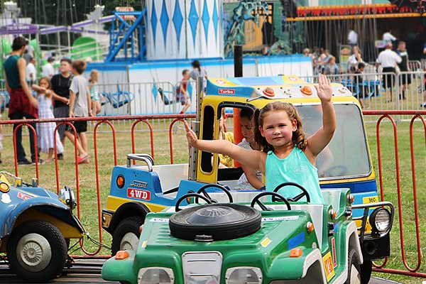 Get your tickets for the Fair and rides