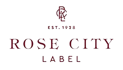Rose city label