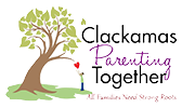 Clackamas Parenting Together logo