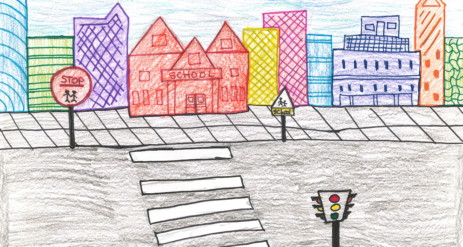 Kids art contest drawing