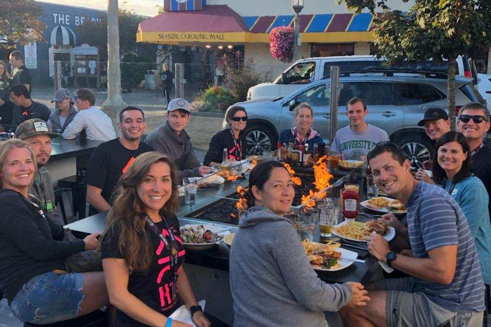 Hood To Coast Team Lunch
