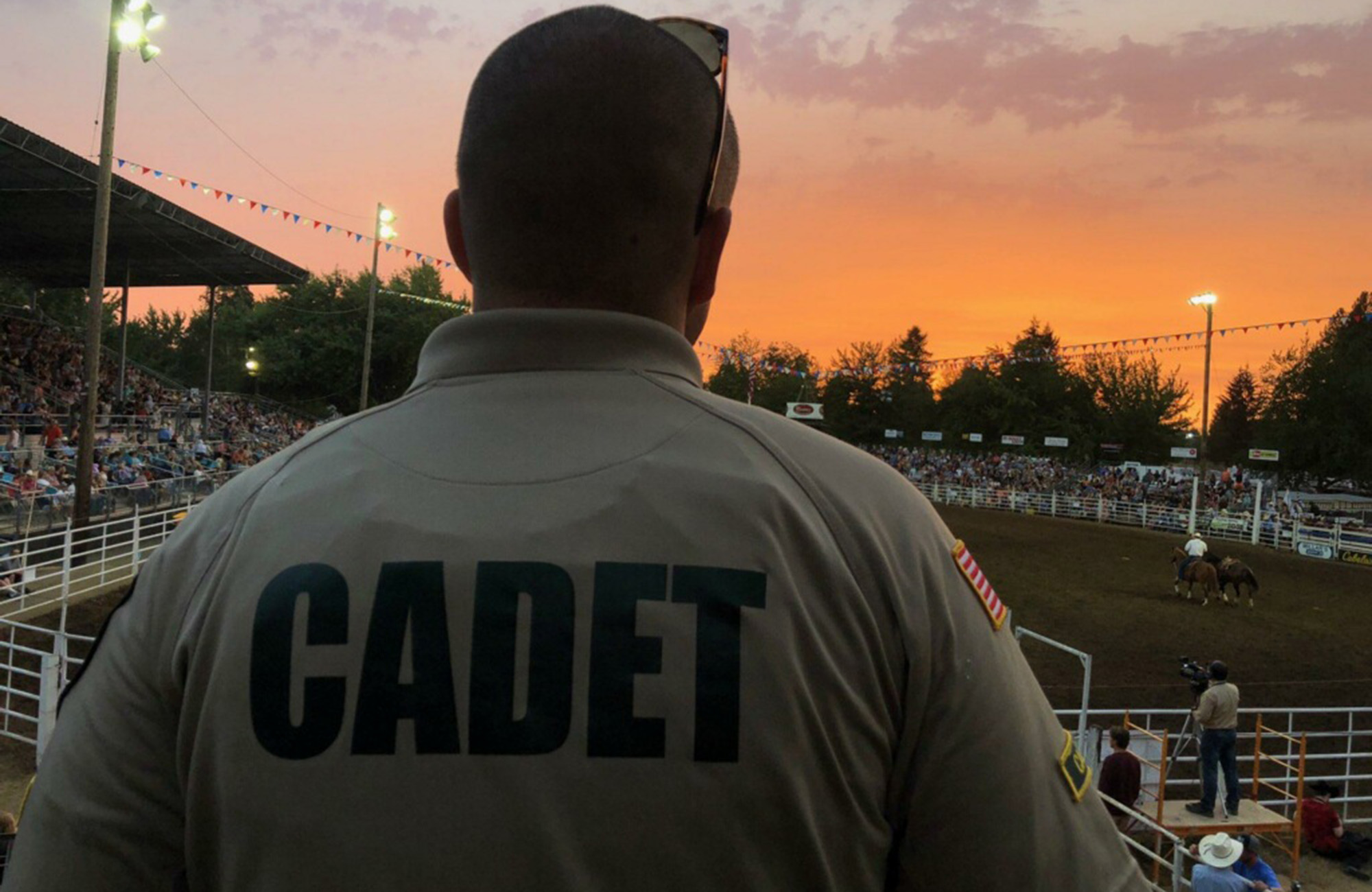 cadet at rodeo