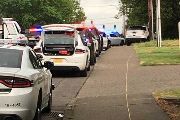 Response to shooting in Oregon City