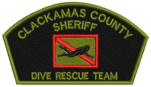 Dive Rescue Team patch