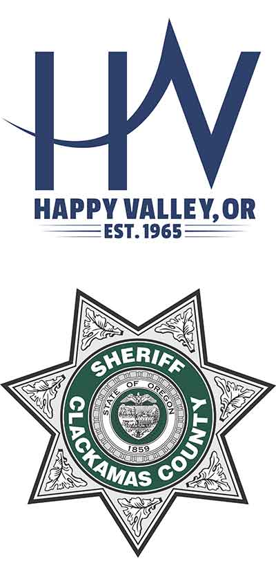 Happy Valley and Clackamas County Sheriff's Office