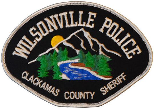 Wilsonville Police patch
