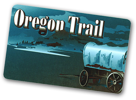 Oregon Trail Card