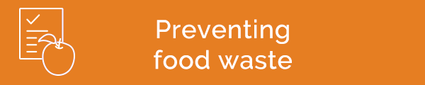 Preventing food waste
