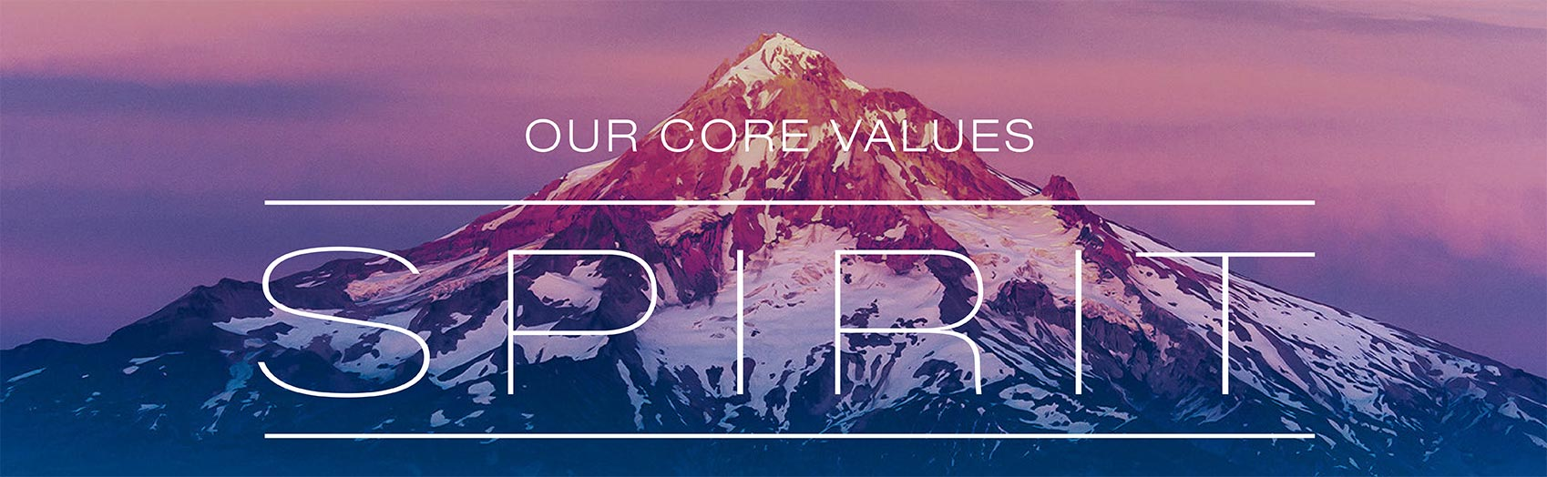 Spirit: Our Core Values