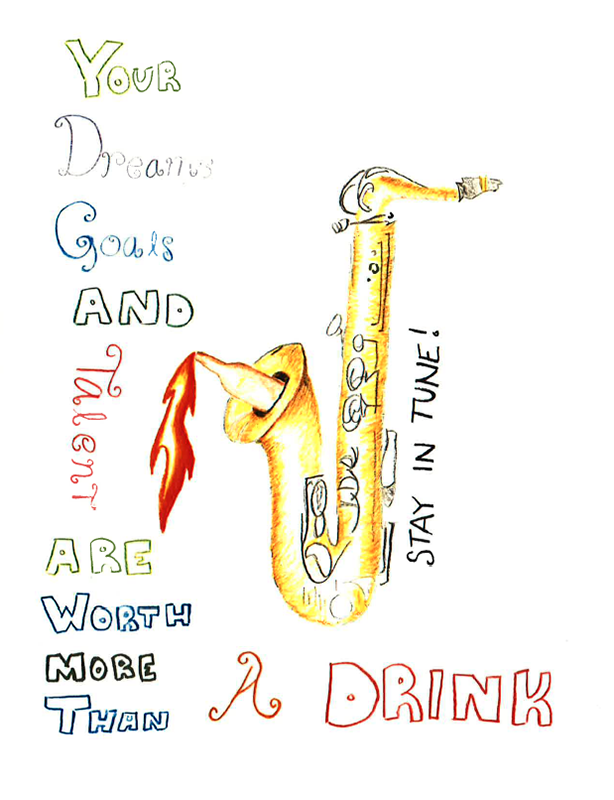 Drugs and alcohol poster