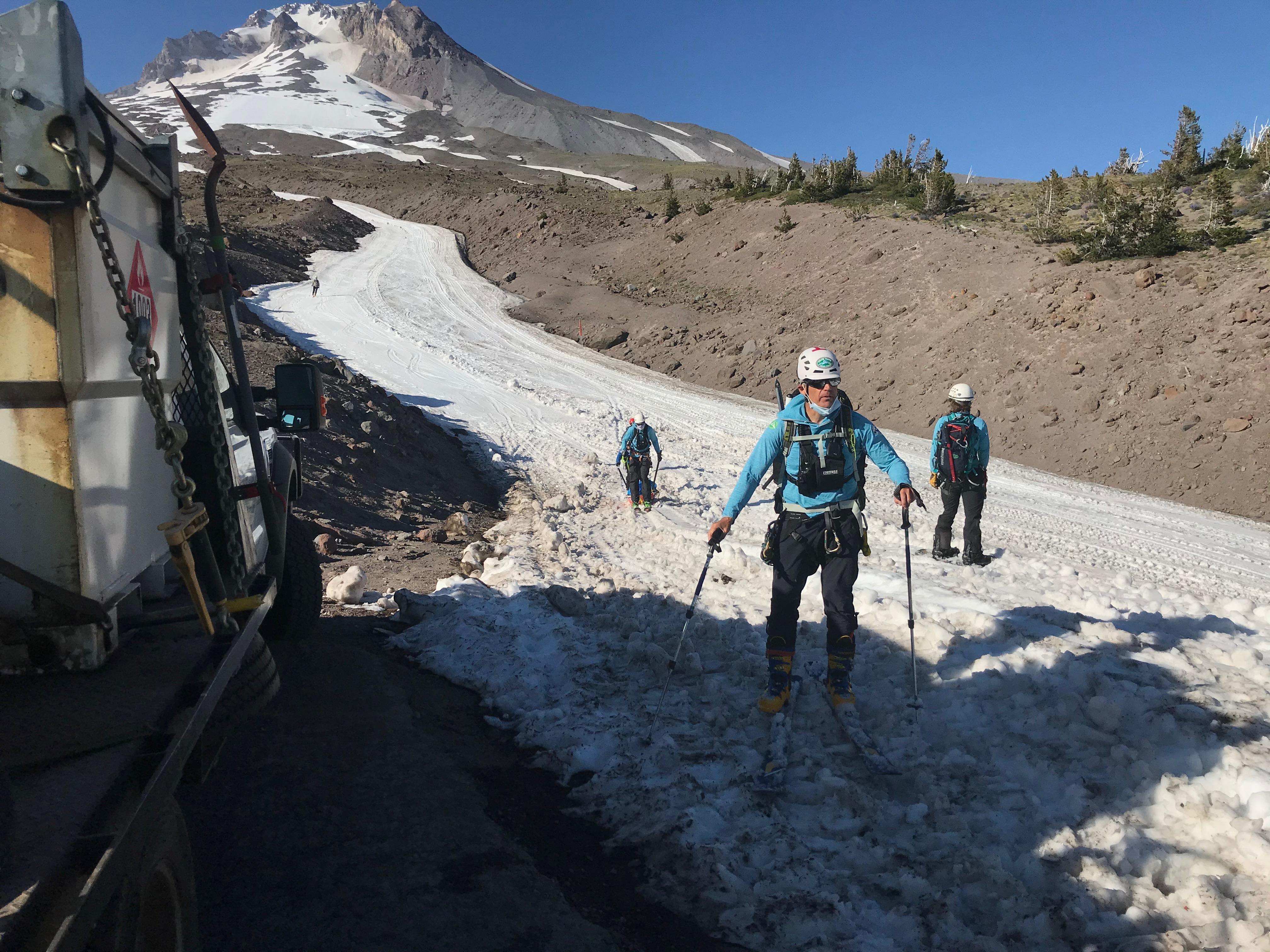 SAR mission on Mt. Hood