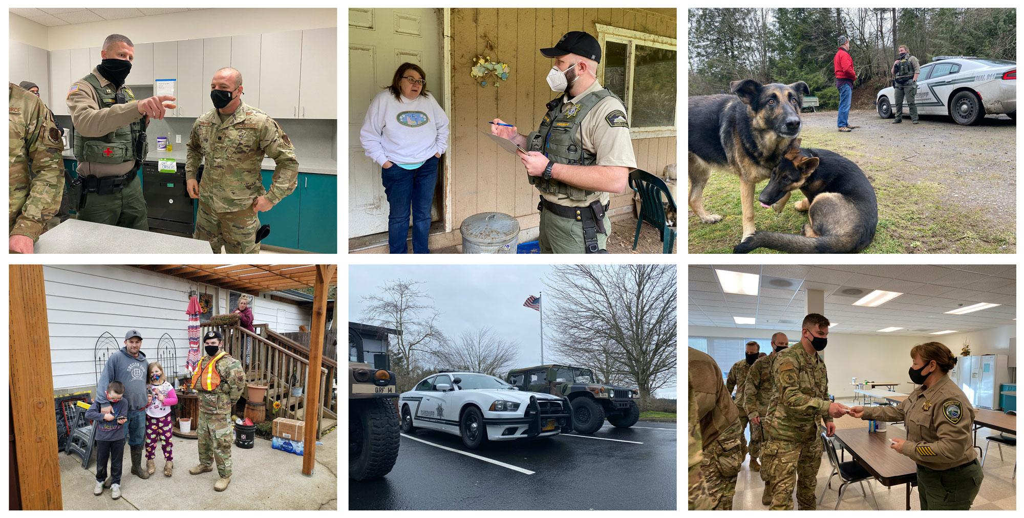 CCSO Guard welfare checks
