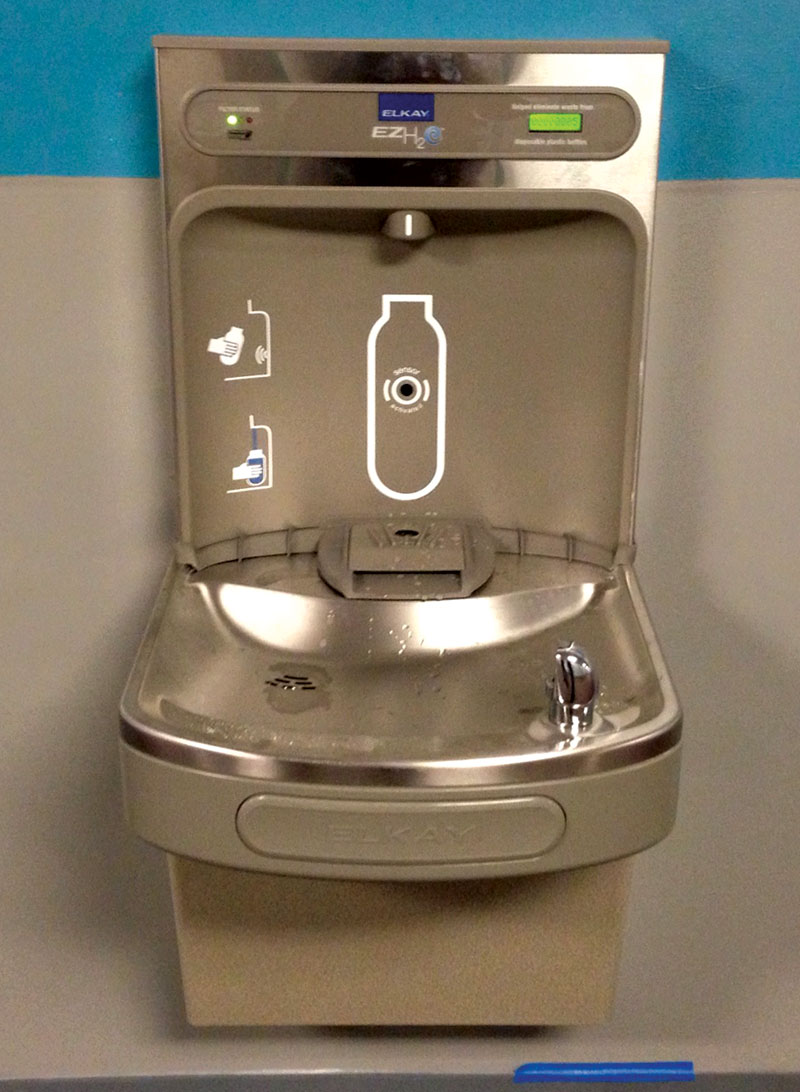 Lakeridge High School water fountains
