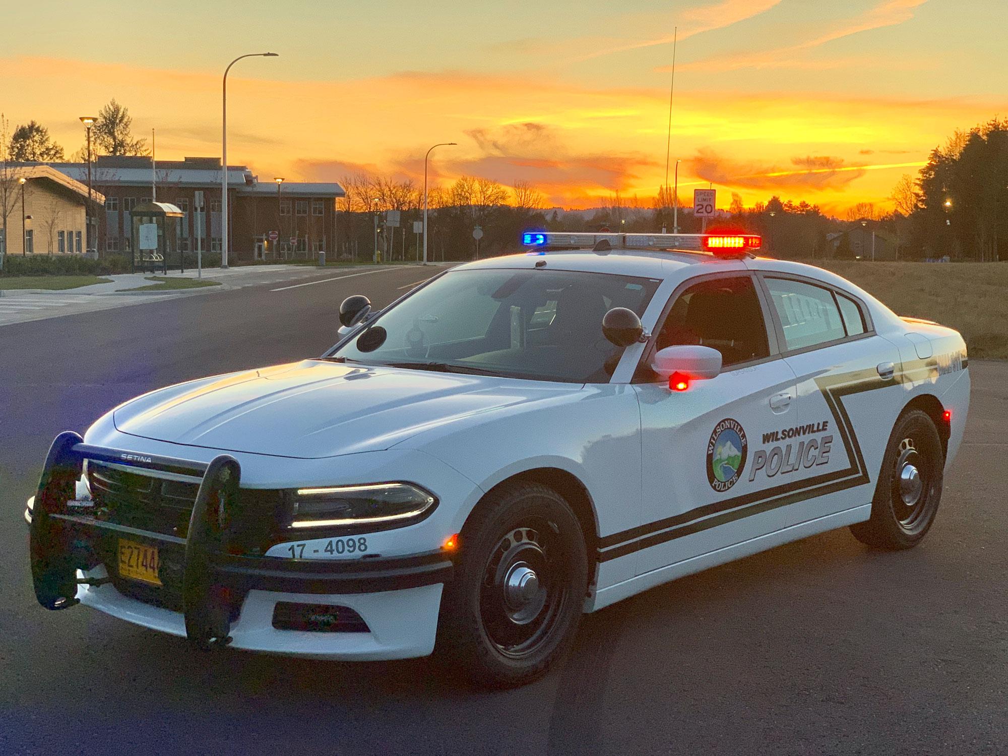 Wilsonville Police Department Patrol vehicle