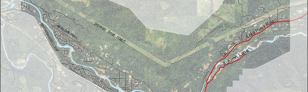 Map of Lolo Pass