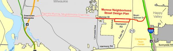 Monroe Neighborhood Street Design Plan