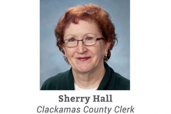 Sherry Hall, Clackamas County Clerk