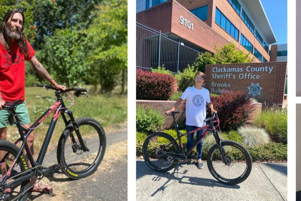 Stolen bike returned