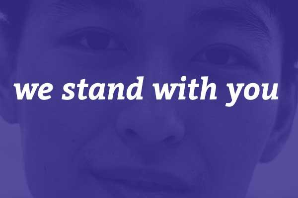 To our Clackamas County Asian and Pacific Islander residents: we stand with you.
