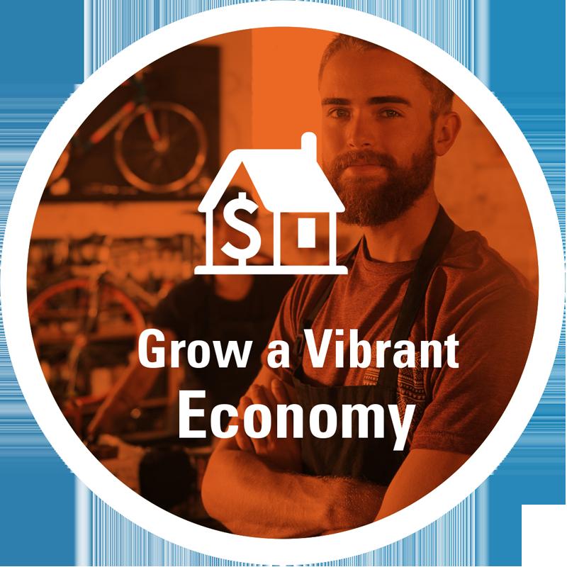 Grow a vibrant economy