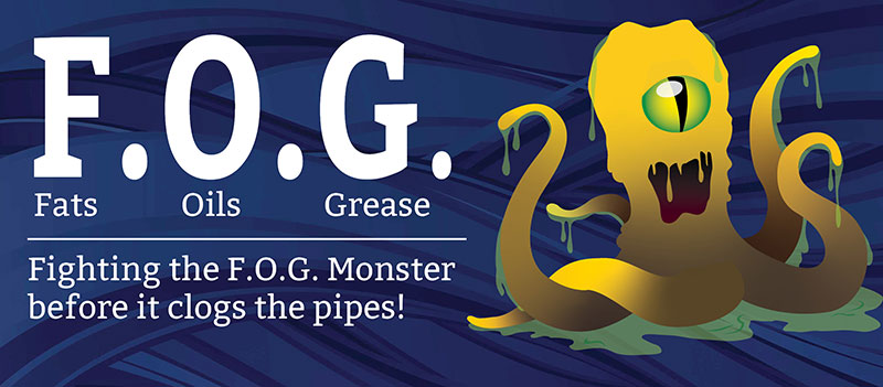 Fats, Oils and grease monster